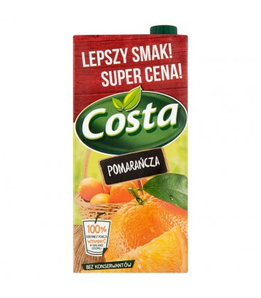 Costa Pomarańcza Napój 2 l