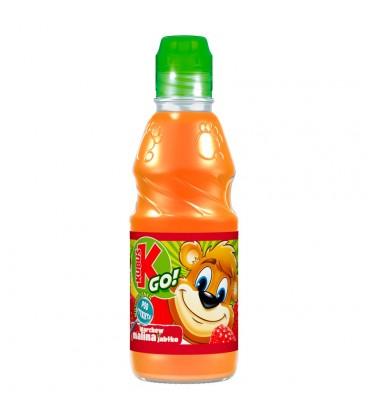 Kubuś Go! Marchew malina jabłko Sok z warzyw i owoców 300 ml