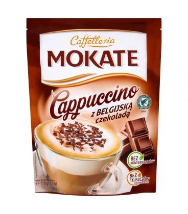 Mokate Caffetteria Cappuccino z belgijską czekoladą 110 g
