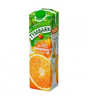 Tymbark Pomarańcza Sok 100% 1 l