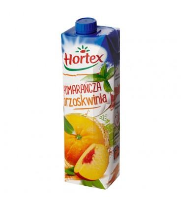 Hortex Pomarańcza brzoskwinia Napój 1 l