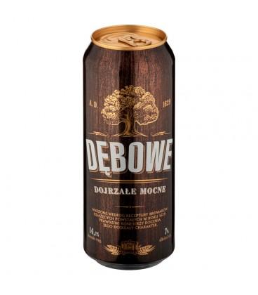 Dębowe Dojrzałe Mocne Piwo jasne 500 ml