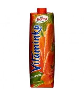 Hortex Vitaminka Marchewka Sok 1 l