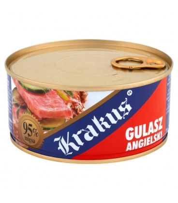 Krakus Gulasz angielski Konserwa 300 g