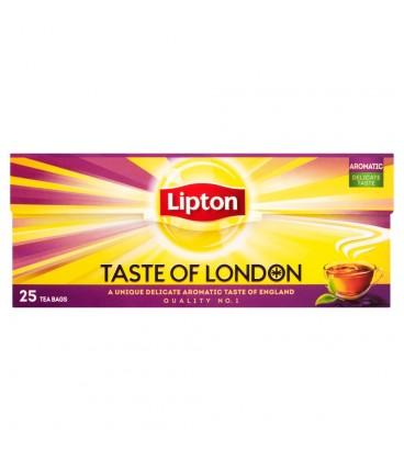 Lipton Taste of London Herbata czarna 50 g (25 torebek)