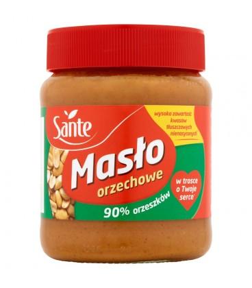Sante Masło orzechowe 90% orzeszków 350 g