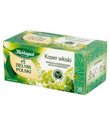 Herbapol Zielnik Polski Koper włoski Herbatka ziołowa 40 g (20 torebek)