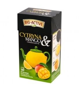 Herbata czarna z cytryną + mango 20TBx2g