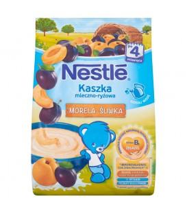 Nestlé Kaszka mleczno-ryżowa morela-śliwka po 4 miesiącu 230 g