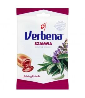 Verbena Szałwia Ziołowe cukierki 60 g