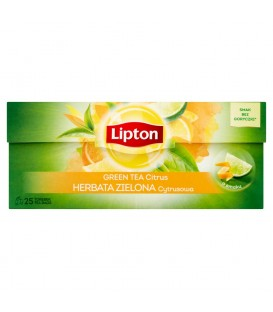 Lipton Green Tea Citrus 25tb