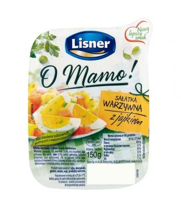 Lisner O Mamo! Sałatka warzywna z jajkiem 150 g