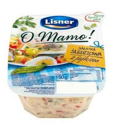 Lisner O Mamo! Sałatka śledziowa z jajkiem 150 g