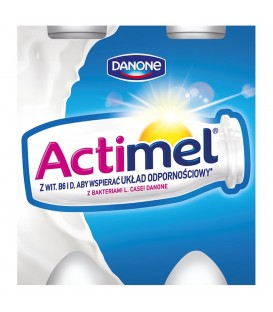 Danone Actimel Klasyczny Mleko Fermentowane 400 g (4 sztuki)