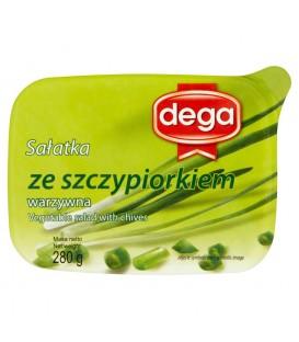 Dega Sałatka warzywna ze szczypiorkiem 280 g