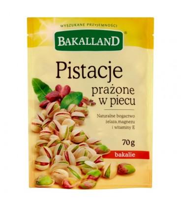 Bakalland Pistacje prażone w piecu 70 g