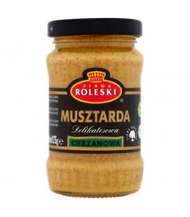 Firma Roleski Delikatesowa Musztarda chrzanowa 175 g