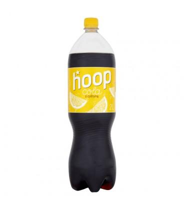 Hoop Cola z cytryną Napój gazowany 2 l