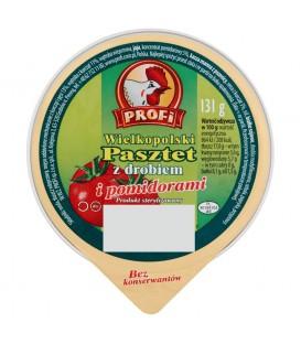Profi Wielkopolski Pasztet z drobiem i pomidorami 131 g