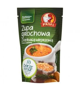 Profi Zupa grochowa z kiełbasą wieprzową 450 g