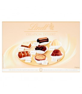 CREATION DESSERTS LINDT 6 x 170g