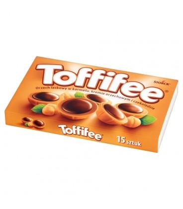 Toffifee Orzech laskowy w karmelu kremie orzechowym i czekoladzie 125 g