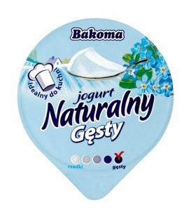 Bakoma Jogurt naturalny gęsty 150 g