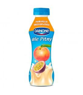 Danone ale Pitny Brzoskwinia marakuja Napój jogurtowy 290 g