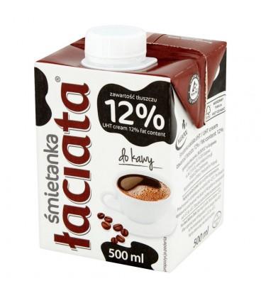 Łaciata Śmietanka do kawy 12% 500 ml