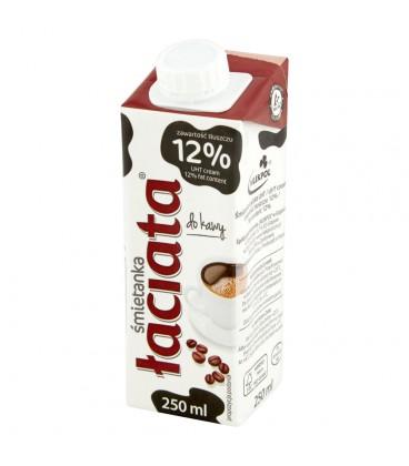 Łaciata Śmietanka do kawy 12% 250 ml