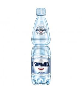 Cisowianka Naturalna woda mineralna gazowana niskosodowa 0,5 l