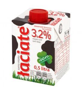 mleko łaciate UHT 0,5L 3,2%