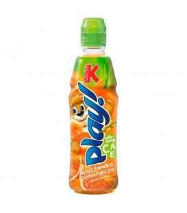 Kubuś Play! marchew jabłko czerwona pomarańcza limetka napój 400 ml