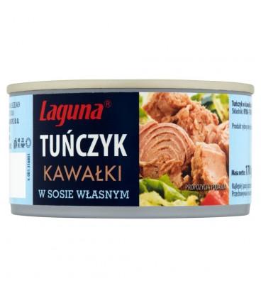 Laguna Tuńczyk kawałki w sosie własnym 170 g