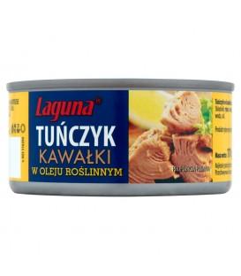 Laguna Tuńczyk kawałki w oleju roślinnym 170 g