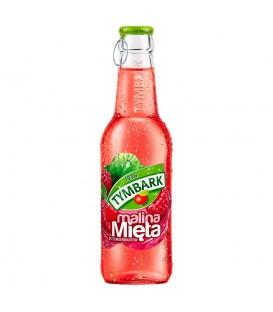 Tymbark Malina mięta napój 250 ml butelka