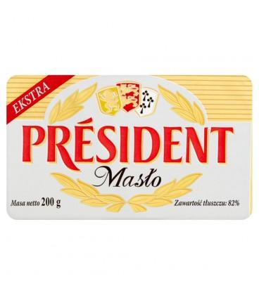 Président Masło ekstra 200 g