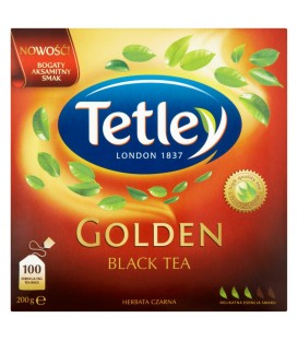 TETLEY GOLDEN BLACK 100 TOREBEK