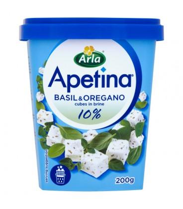 Apetina z oregano i słodką bazylią Ser w kostkach 200 g