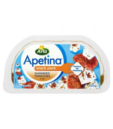 Apetina z suszonymi pomidorami Ser typu śródziemnomorskiego w zalewie olejowej 100 g