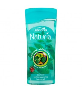Joanna Naturia Szampon z pokrzywą i zieloną herbatą do włosów przetłuszczających się 200 ml