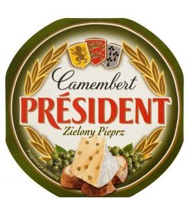 Président Camembert Zielony Pieprz Ser 120 g