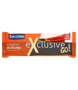 Tarczyński Kabanos Exclusive Go! drobiowy z dodatkiem wieprzowiny 50 g