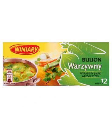 Winiary Bulion warzywny 120 g (12 kostek)