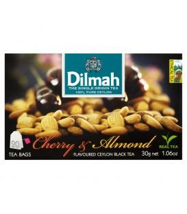 Dilmah Cejlońska czarna herbata z aromatem wiśni i migdałów 30 g (20 torebek)
