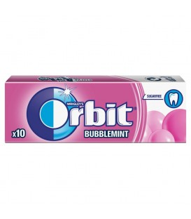 ORBIT BUBBLEMINT - 10 DRAŻETEK TEST SZT