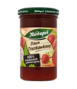 Herbapol Dżem truskawkowy niskosłodzony 280 g