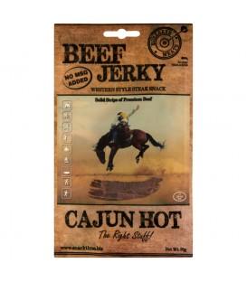 Bullseye Meats Beef Jerky Cajun Hot Suszona wołowina 50 g