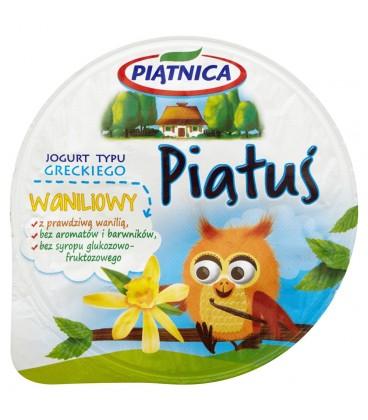 Piątnica Piątuś Jogurt typu greckiego waniliowy 125 g