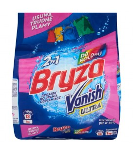 Bryza Vanish Ultra 2w1 do koloru Proszek do prania i odplamiacz 1 kg
